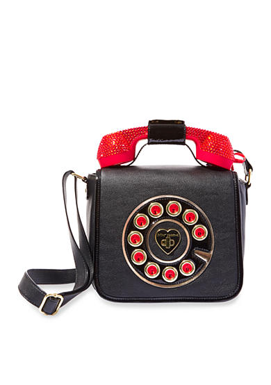Betsey Johnson Phone Crossbody Bag