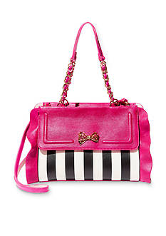 Betsey Johnson Flouncin Around Satchel Bag
