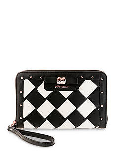 Betsey Johnson Forbidden Fruit Oversized Wallet