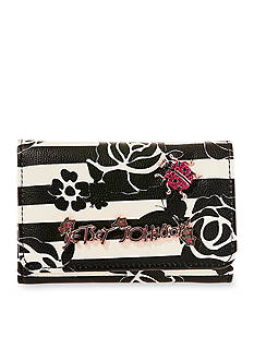 Betsey Johnson Glam Garden Tri-Fold Wallet