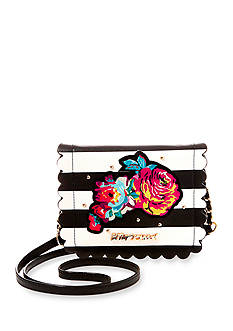 Betsey Johnson Many Blooms Ago Crossbody