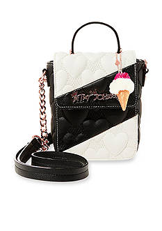 Betsey Johnson Split Decision Crossbody