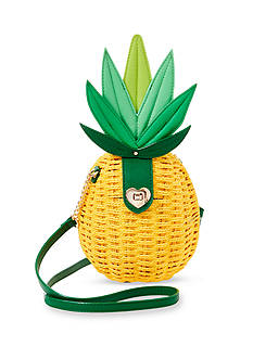 Betsey Johnson Pineapple Crossbody Bag