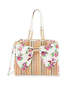 Betsey Johnson Bow Satchel