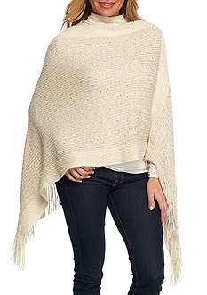 New Directions® Sequin Knit Poncho