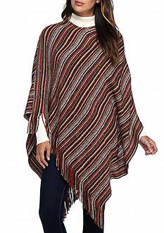 New Directions® Stripe Poncho