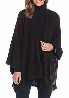 New Directions Rib Knit Kimono
