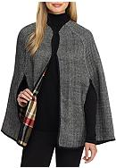 New Directions® Reversible Plaid Cape