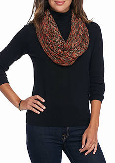 New Directions® Spacedye Mini Fishnet Infinity Scarf