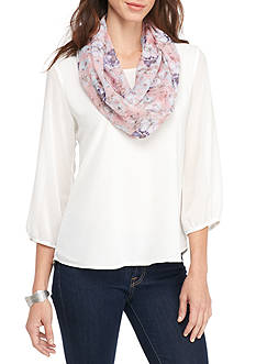 New Directions® Chrysanthemum Infinity Scarf