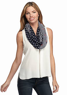 New Directions® Nantucket Nautical Infinity Scarf