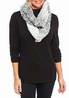 New Directions Ombre Knit Infinity Scarf