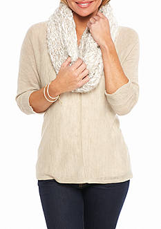 New Directions® Ombre Knit Infinity Scarf