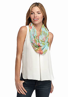 New Directions® Countess Floral Infinity Scarf