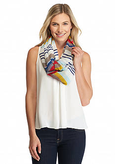New Directions® Stepping Stripes Infinity Scarf