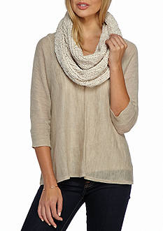 New Directions Sequin Chenille Infinity Scarf