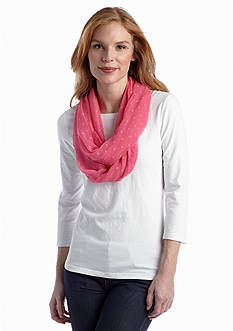 New Directions® Swiss Dot Infinity Scarf