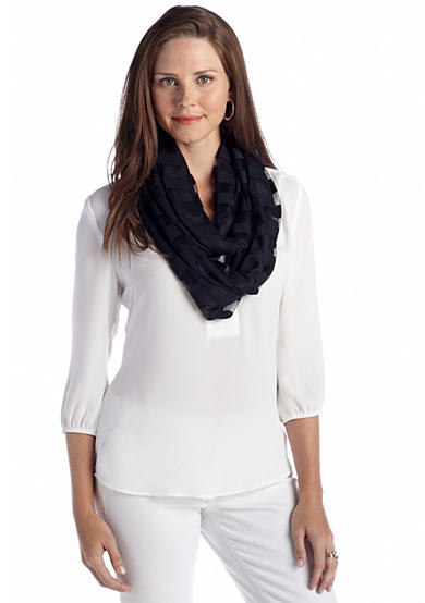 New Directions® Jersey Burnout Infinity Scarf