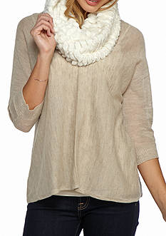 New Directions Sandwaves Infinity Scarf