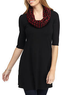 New Directions® Houndstooth Loop Scarf