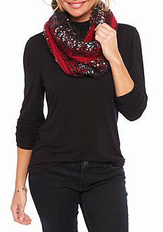 New Directions® Knit Snood Scarf