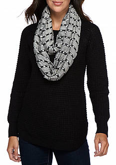 New Directions Hidden Code Infinity Scarf