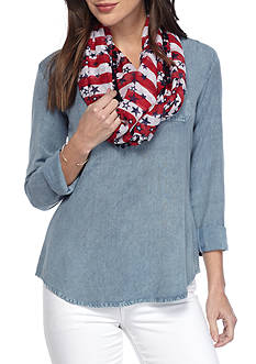 New Directions American Galaxy Infinity Scarf
