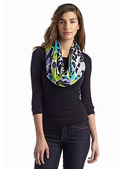 New Directions® Abstract Leopard Infinity Scarf