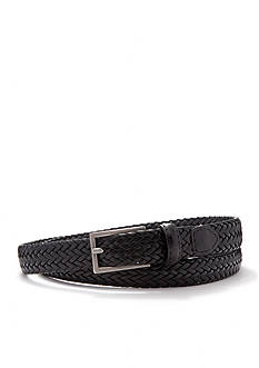 New Directions Leather Braided Belt