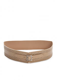 New Directions® Cutout Stretch Panel Belt