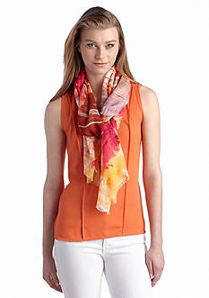 Jessica Simpson Rosey Horizons Scarf