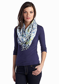 Jessica Simpson Paint Strokes Scarf