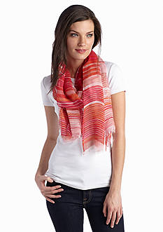 Jessica Simpson Faded Lines Scarf