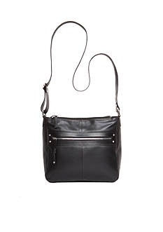 Kim Rogers Siena Leather Bucket Crossbody