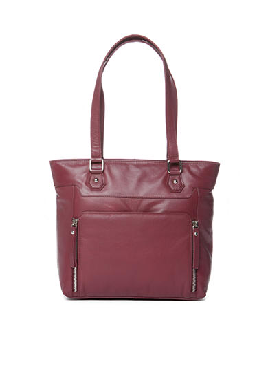 Kim Rogers® Siena Leather Tote