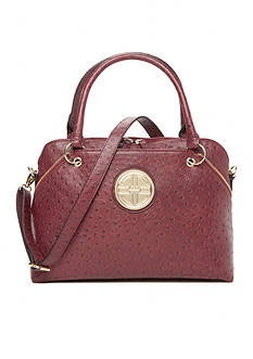 Kim Rogers® Ostrich Dome Satchel