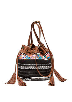 Del Mano Laurie Drawstring Crossbody