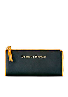 Dooney & Bourke City Leather Zip Clutch