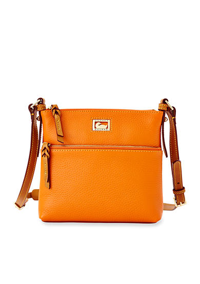 Dooney & Bourke Leather Letter Carrier Crossbody
