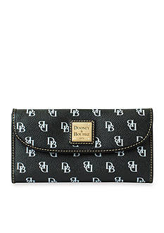 Dooney & Bourke Signature Continental Clutch Wallet