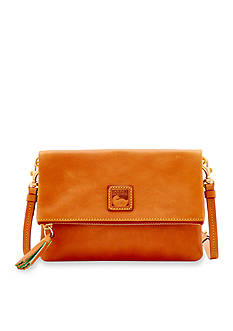 Dooney & Bourke Florentine Foldover Zip Crossbody