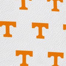 Designer Tote Bags: White/Orange Dooney & Bourke Tennessee Shopper