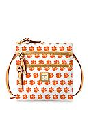 Dooney & Bourke Clemson Triple Zip Crossbody