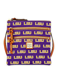 Dooney & Bourke LSU Triple Zip Crossbody