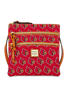 Dooney & Bourke Louisville Triple Zip Crossbody