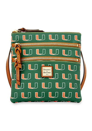 Dooney & Bourke Miami Triple Zip Crossbody
