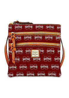 Dooney & Bourke Mississippi State Triple Zip Crossbody