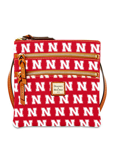 Dooney & Bourke Nebraska Triple Zip Crossbody