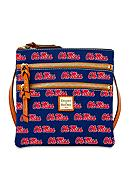 Dooney & Bourke Ole Miss Triple Zip Crossbody