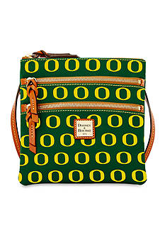 Dooney & Bourke University of Oregon Triple Zip Crossbody